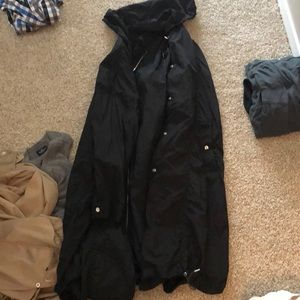 Zara extra long rain jacket never worn!